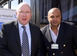 Dr Ghosh with Sir Liam Donaldson